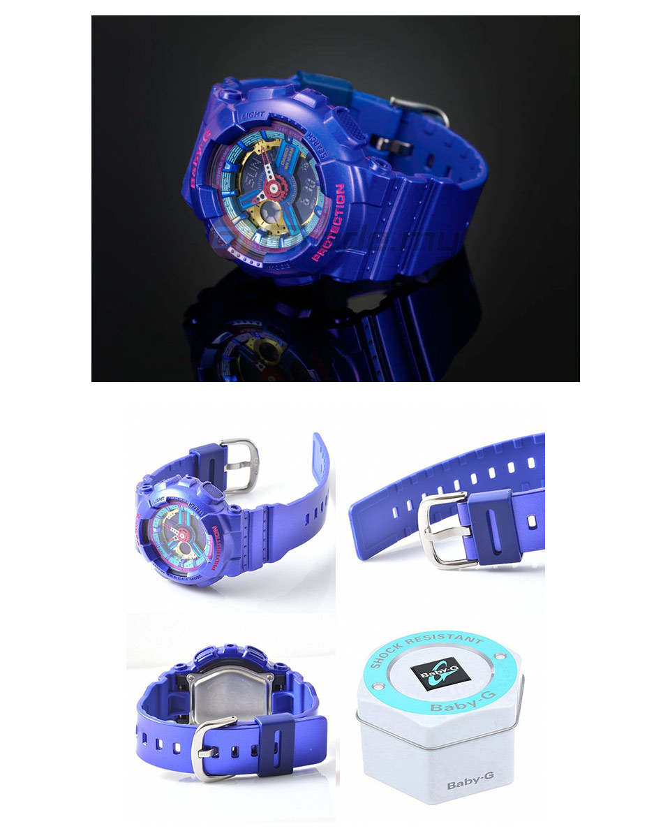 Baby G Ba 112 Manual Casio 110sn 3a