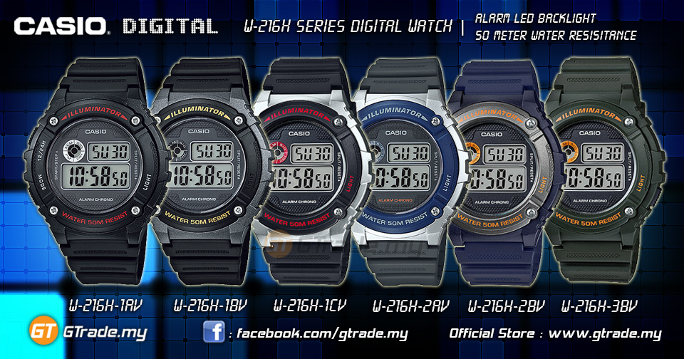 casio shock resist watch manual