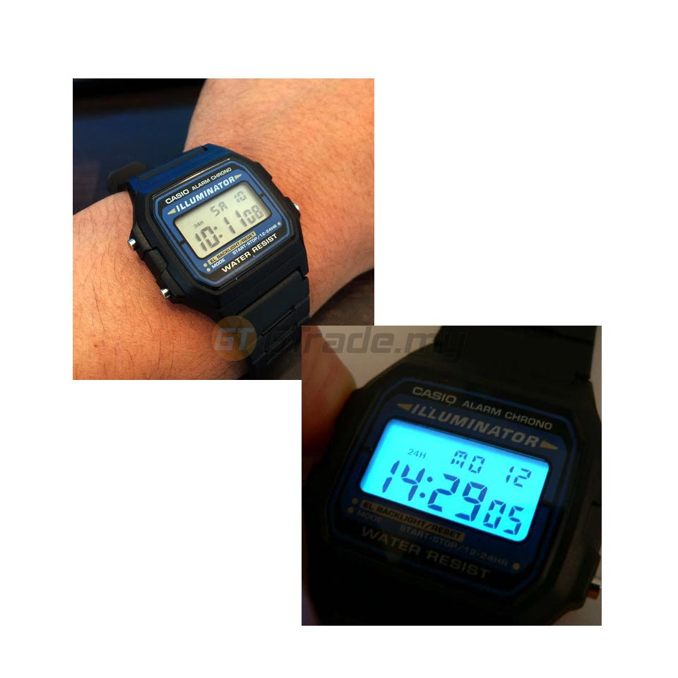 Casio Standard F 105w 1a Digital Wat End 1 10 2019 1 17 Pm