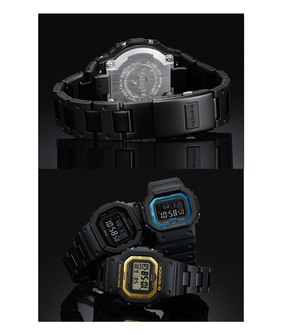 Casio G Shock Gw B5600bc 1d Digital Watch Stainless Steel Resin Huawei With Link Band Us Warranty