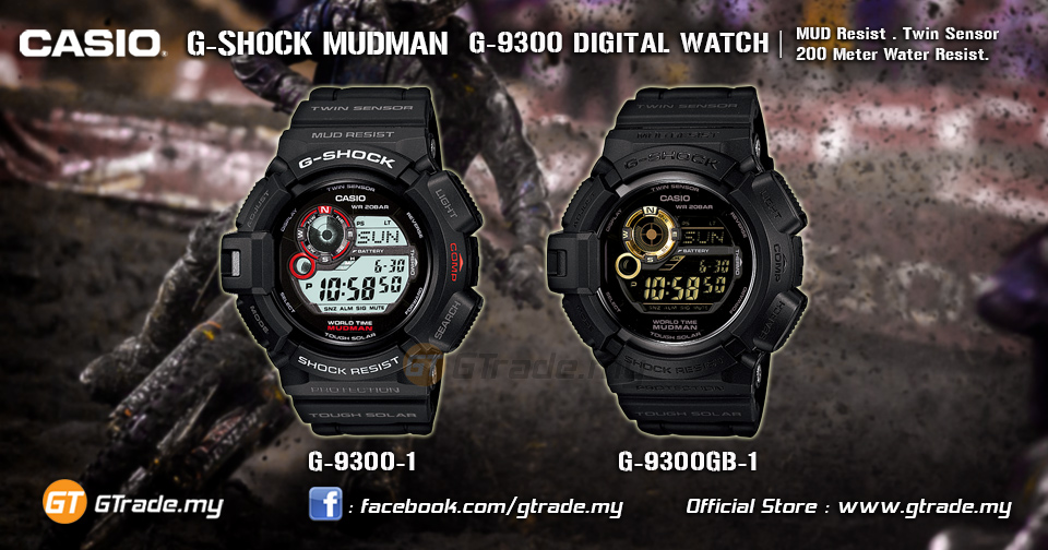 CASIO G-SHOCK G-9300-1 MUDMAN Watch (end 5 10 2021 12 00 AM) ba6700f86194