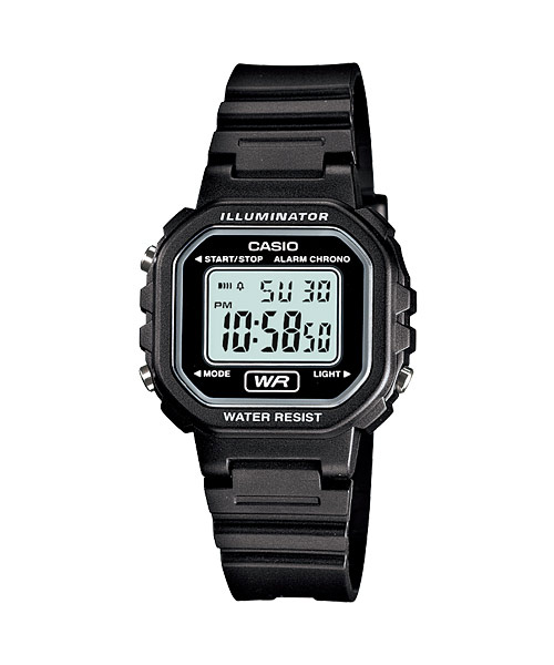 CASIO STANDARD LA-20WH-1AV Digital Kids Ladies Watch ...