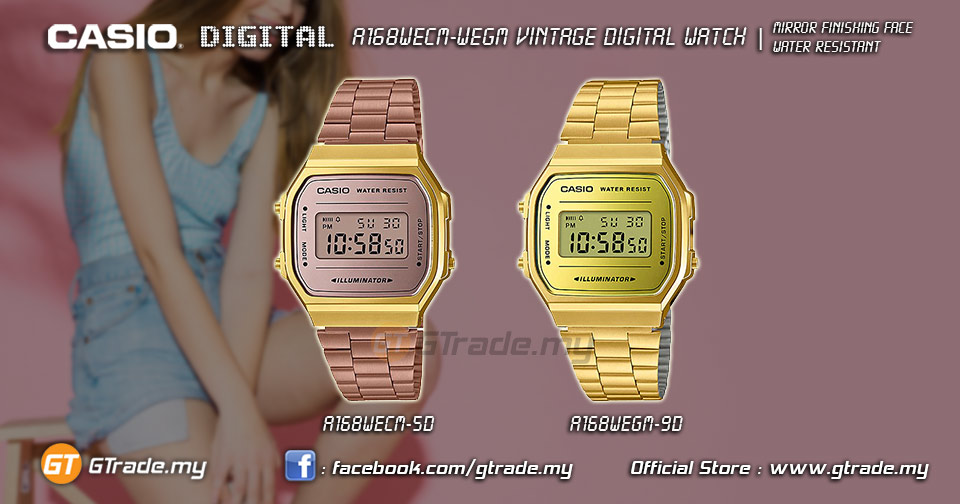 READY STOCK  CASIO Standard A168WE (end 5 10 2021 12 00 AM) 020571b347